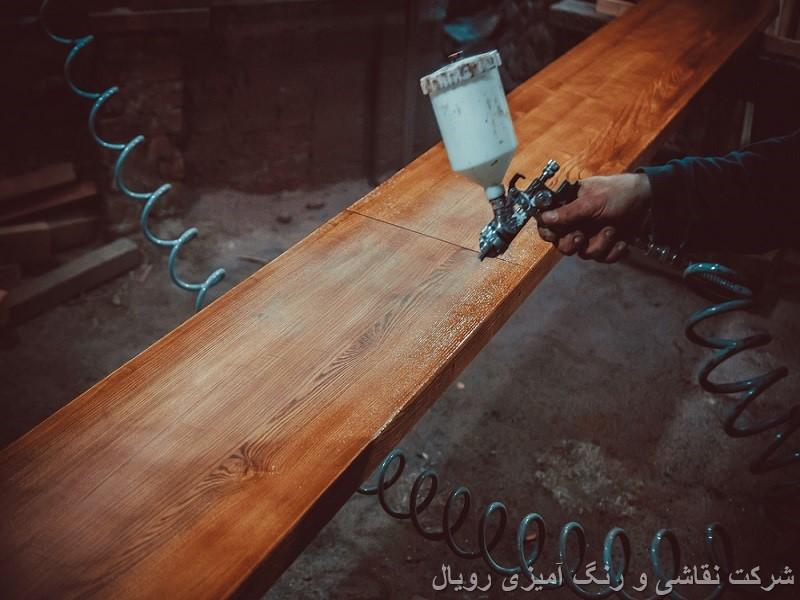 رنگ کار چوب