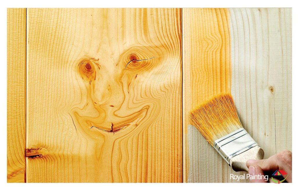 رنگ چوب