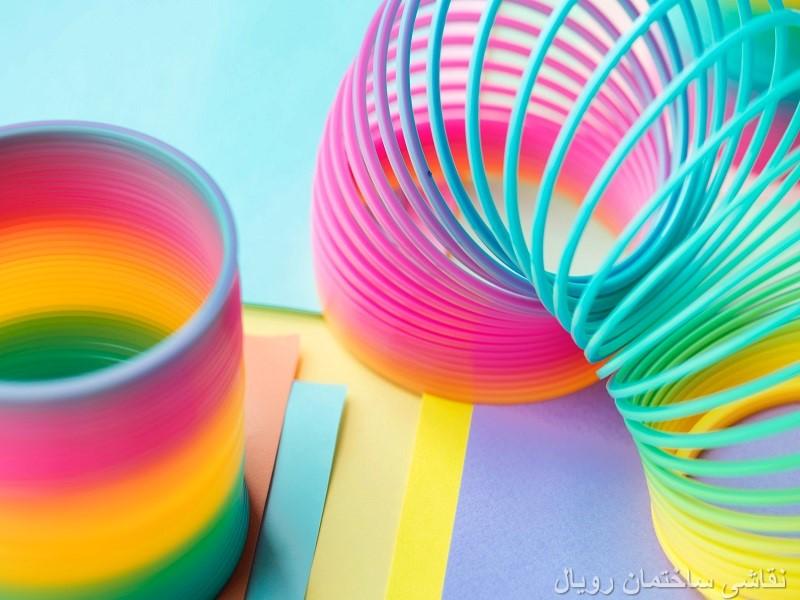 خصوصیات بصری رنگ ها