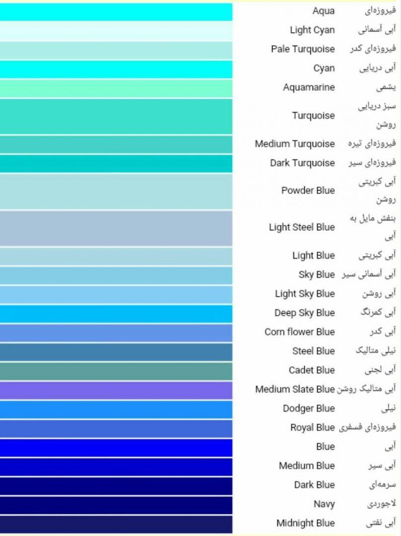 طیف رنگی