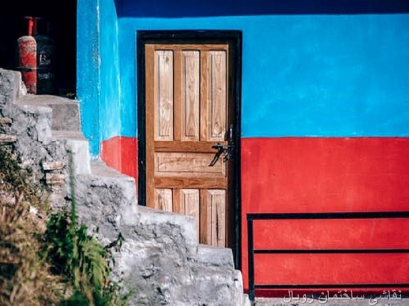 نقاشی ساختمان در فشم