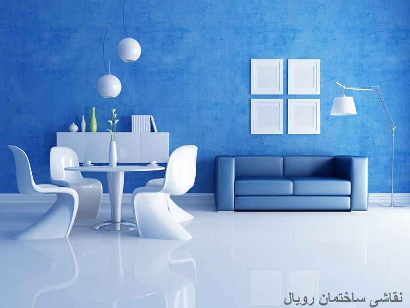 جدیدترین رنگ های نقاشی منزل