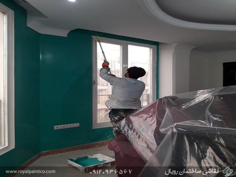 نقاشی آپارتمان در تهران