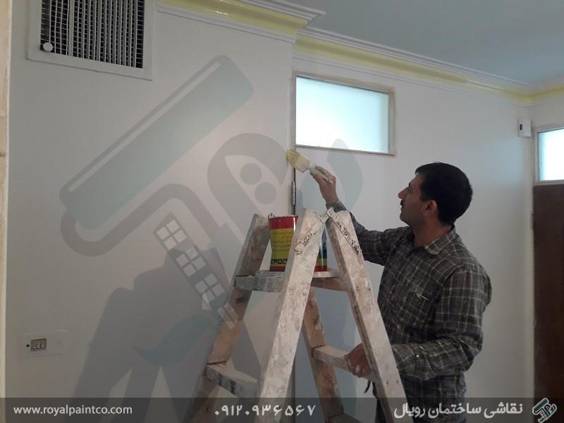 هزینه نقاشی آپارتمان در تهران