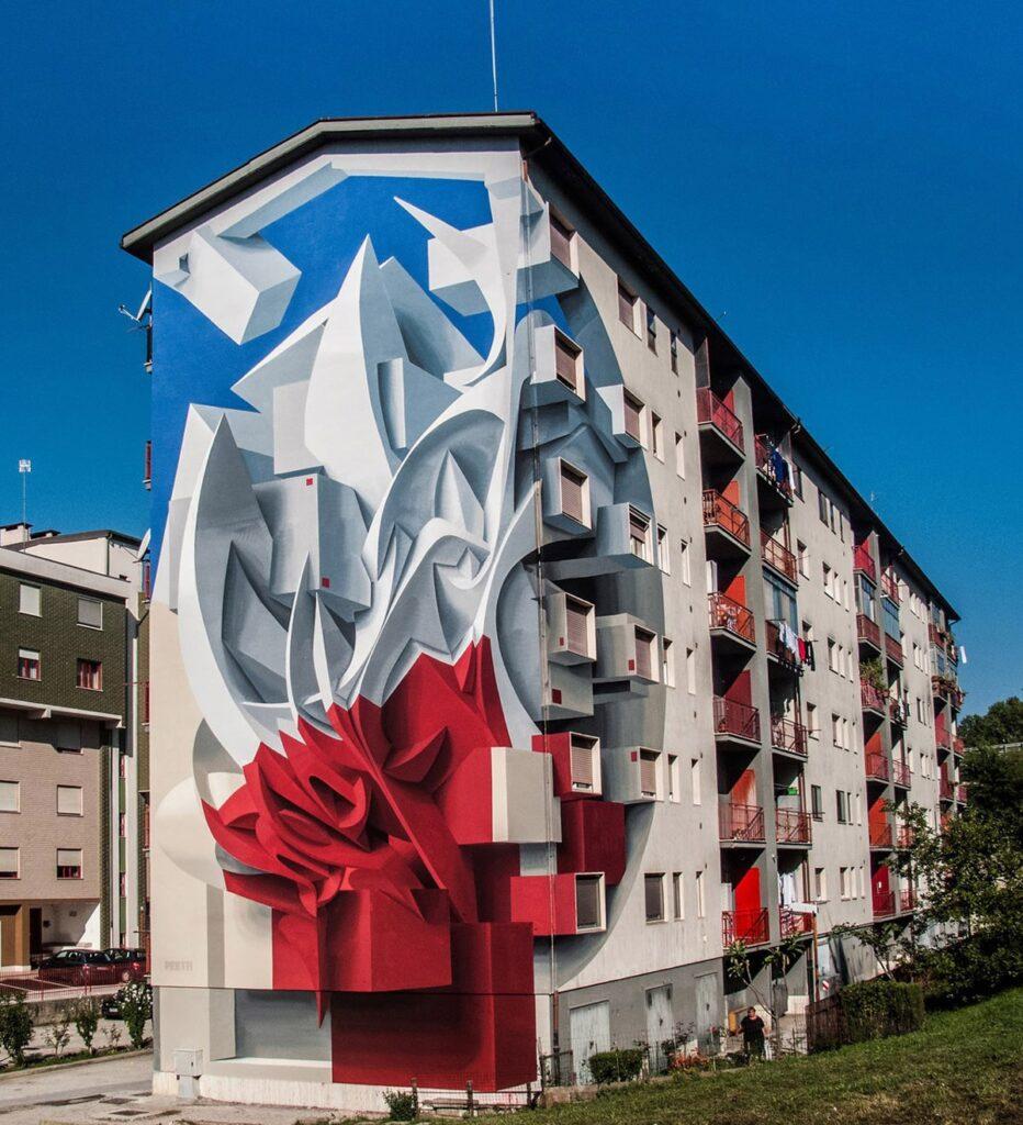 نقاشی ساختمان سه بعدی